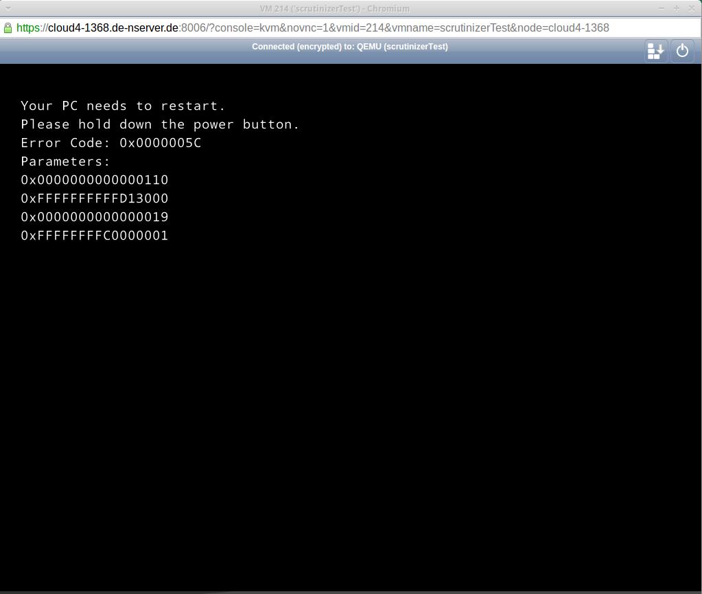 Re: [Qemu-stable] Qemu 2 2 1 black screen of death in